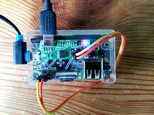 Attaching OrangePi i96 to the 96Boards UART interface.