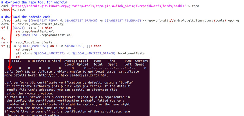 Linaro_android_build_cmds sh